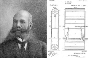 Alexander Miles Black Invention Elevator
