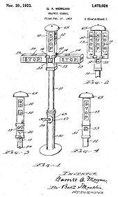 Garret Morgan Black Invention Traffic Light
