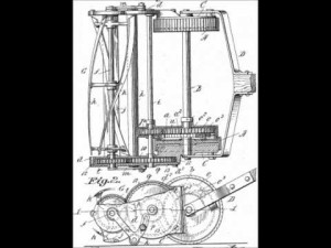John Burr Black Invention lawn mower