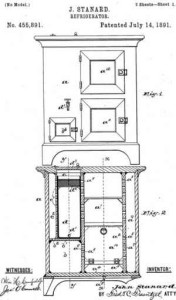 john standard black inventor Refrigerator