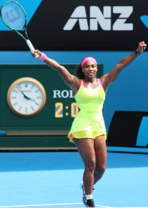 Serena Williams at the Australian Open 2015